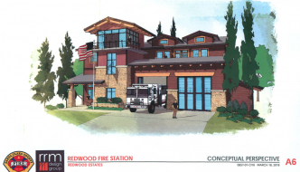 Santa Clara County Fire Department Announces Plans for Redwood Fire Station Upgrade