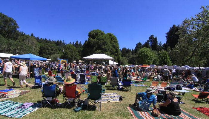 Annual Redwood Mountain Faire Fun in the Sun
